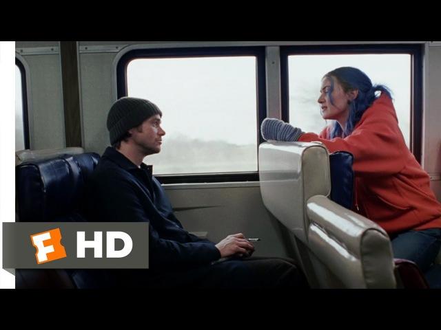 Eternal Sunshine of the Spotless Mind (1/11) Movie CLIP - Train Ride (2004) HD