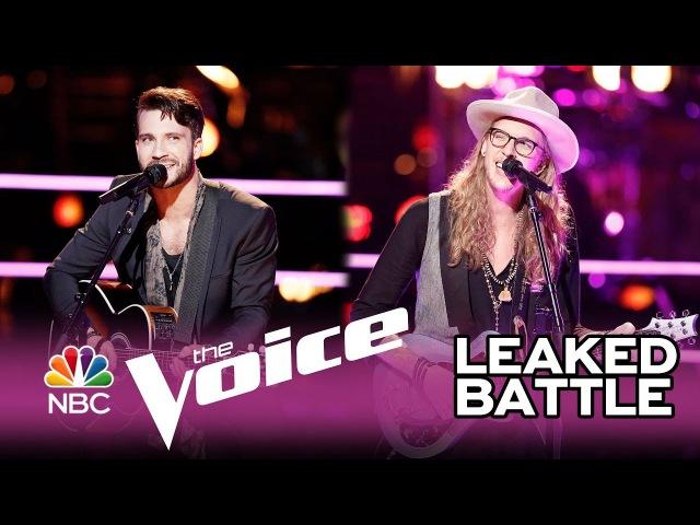 """The Voice 2017 Battle - Mitchell Lee vs. Dennis Drummond: """"Mr. Jones"""""""