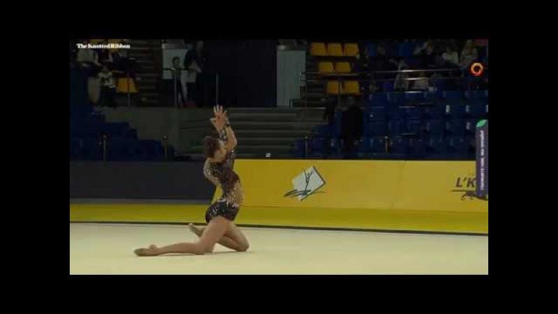 Irina Annenkova ball EF 2018 Kiev Deriugina Grand Prix