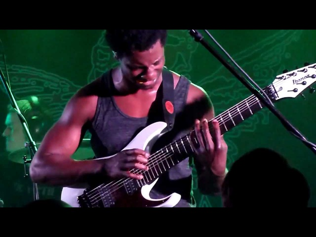 Animals as Leaders - Isolated Incidents live@Rock Cafe, Prague 28.4.2012
