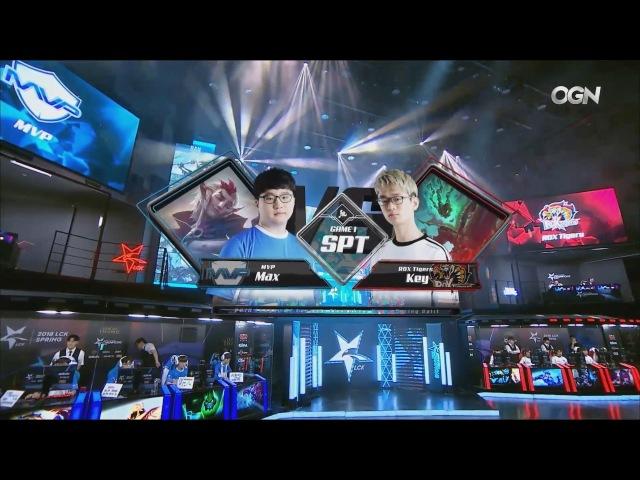 MVP vs. ROX - Игра 1 Неделя 5 День 2   LCK 2018 Spring Split