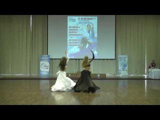 Anastasya Korobova and Eremeeva Polina, duo, choreography by Svetlana Milaya