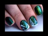 Зимний Дизайн Ногтей Очень Красивый и Простой  ТОП удивителные дизайны ногтей