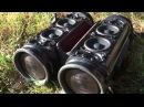 2x JBL Xtreme Vol 100%