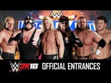 WWE 2K18 Entrances - Chris Jericho 2000, Vader, AB Undertaker, Eddie Guerrero, Triple H 01 & HHH DX!