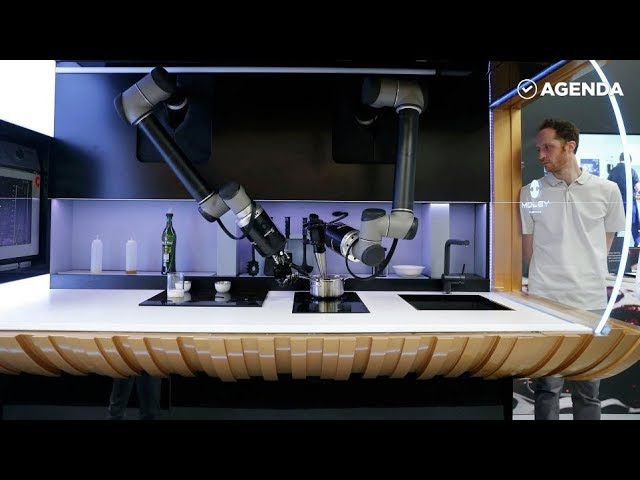 В Англии создали первую в мире робокухню