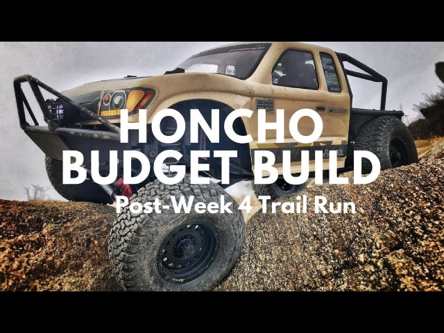 Axial SCX10-2 Trail Honcho $50 Budget Build - Running Post Week 4 - Dotons Point