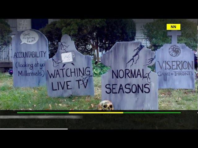 Американець створив кладовище трендів. Фото дня від NewsNetwork 22 жовтня