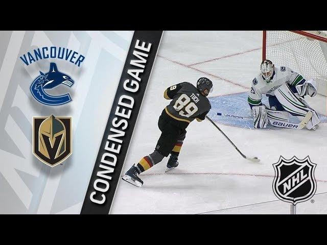 Vancouver Canucks vs Vegas Golden Knights March 20, 2018 HIGHLIGHTS HD