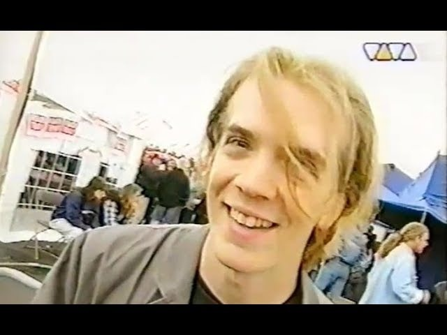 Strapping Young Lad - Interview with Devin Townsend Dynamo Open Air Eindhoven 03.06.1995 (TV)