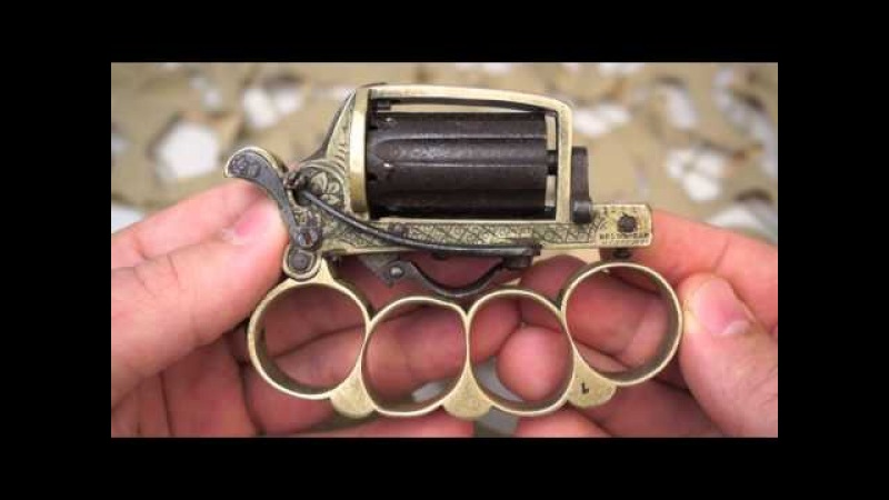 Apache Knuckle Duster Pepperbox Antique French Revolver Overview Texas Gun Blog
