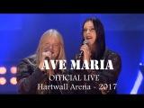 Marco Hietala &amp Floor Jansen - Ave Maria (OFFICIAL LIVE VIDEO) Hartwall Arena
