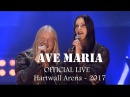 Marco Hietala Floor Jansen - Ave Maria (OFFICIAL LIVE VIDEO) [Hartwall Arena]