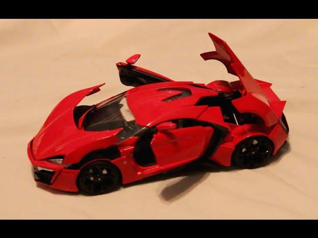 Review - 1:18 Scale Jada Lykan Hypersport - Fast Furious 7