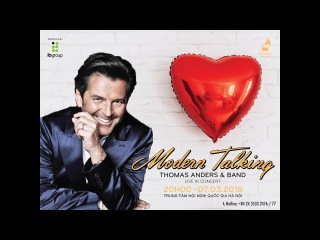 Thomas Anders ft. Modern Talking - Lunatic In Hanoi, Vietnam