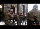 17 03 2018 На майдан прибыли вооруженные автоматами боевики Нацгвардии