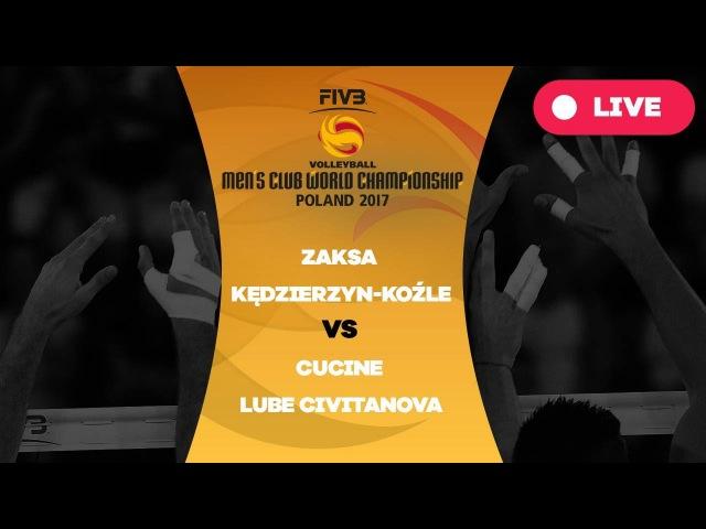 Men's Club World Championship Group A ZAKSA Kędzierzyn Koźle Cucine Lube Civitanova