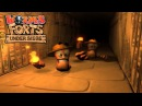 Worms Forts Under Siege 2004 All Movies Cutscenes by Team17 HD