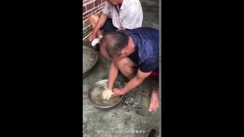 Как китайцы готовят тушу крыс