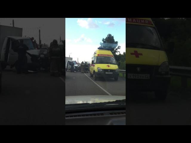 Авария возле Присягино 20.07.2017 (Barnaul 22)