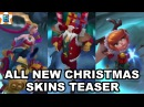 All New Christmas Skins Teaser - Ambitious Elf Jinx - Santa Draven - Snow Fawn Poppy Preview