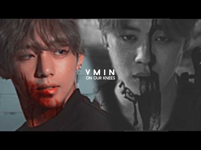VMIN | on our knees (vampire!au)