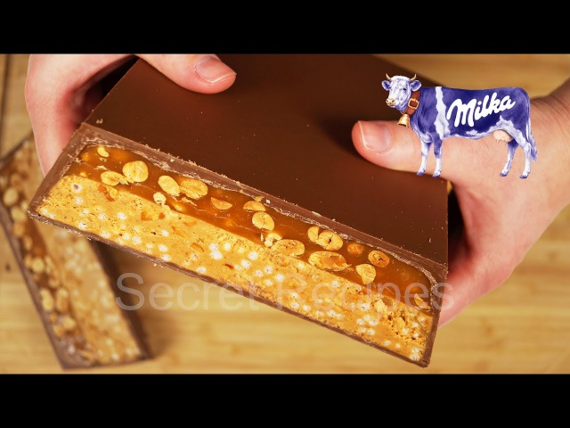 Огромная шоколадка Милка арахис карамель   Milka peanut caramel