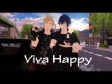 MMD FFXV Viva Happy! - Noct and Prompto