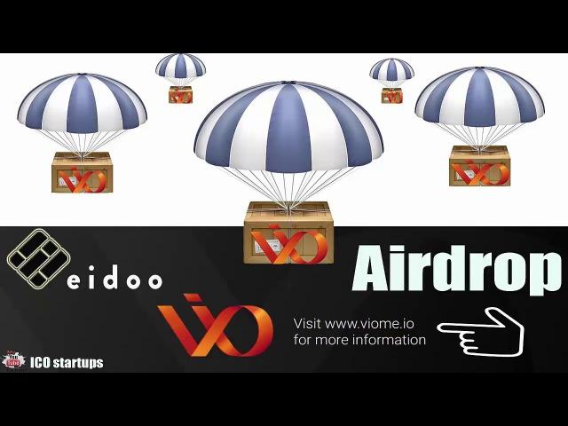 Airdrop VIO! Бесплатно всем монеты VIO кто установит кошелек Eidoo Wallet!