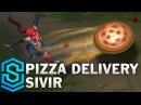 Pizza Delivery Sivir Skin Spotlight - Pre-Release - League of Legends