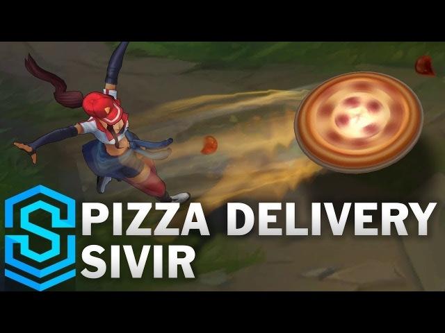 Pizza Delivery Sivir Skin Spotlight - Pre-Release - League of Legends