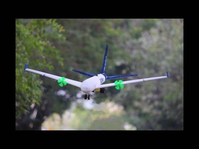 How To Make a Airplane - Flying Airplane - Aeroplane