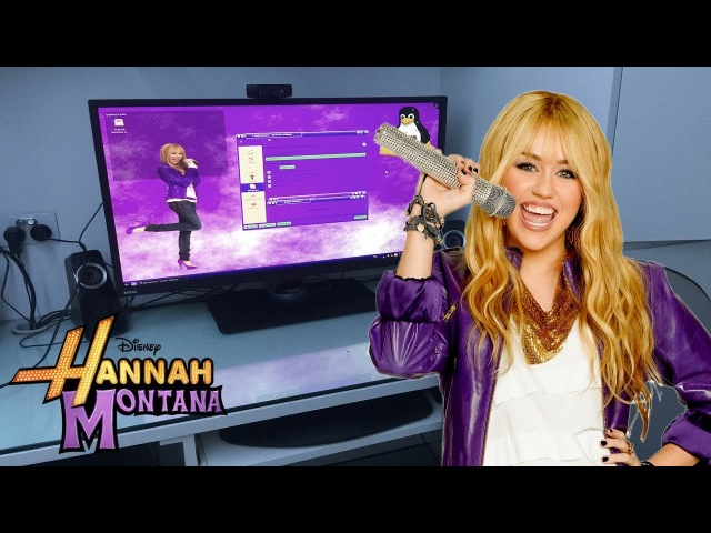 Mum Tries Out Hannah Montana Linux (2009) and Dad Tries Out OllieOS (2017)