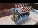 V8 Электромагнитный Соленоидный Двигатель