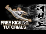 Taekwondo Kicking Tutorials Promo 2018 FREE How to Videos by Ginger Ninja Trickster