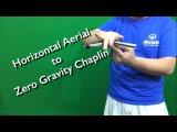 Balisong TutorialGuide #7  Horizontal Aerial to Zero Gravity Chaplin