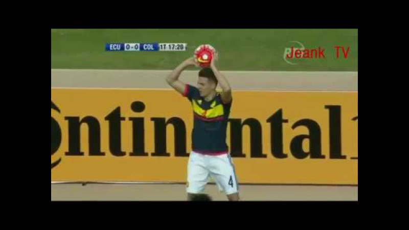 ECUADOR 0 Vs COLOMBIA 2 | Eliminatorias Rusia 2018