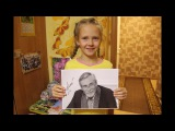 Взял автограф у Александра Яковлевича Михайлова для дочери Златы