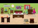 In the Bedroom Vocabulary in English Learn Names of Bedroom Objects