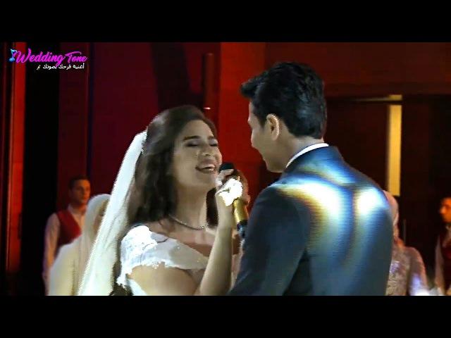 Невеста поёт для жениха Арабская свадьба