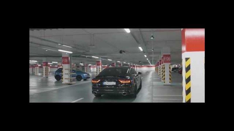 AUDI A7 Biturbo X-UK Carbon diffuser / splitter and front Quattro grill Vossen wheels