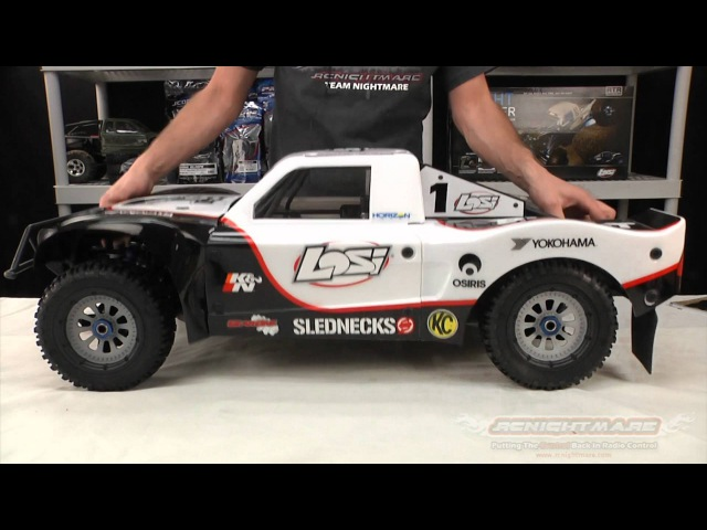Losi 1/5 5IVE-T 4WD SCT Unboxing First Review