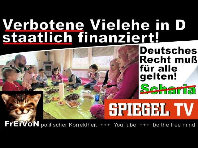 Verbotene Vielehe staatlich finanziert! SPIEGEL TV * Syrer, 2 Frauen, 6 Kinder, 1 Haus * HD