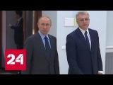 Владимир Путин проведет совещание на предприятии