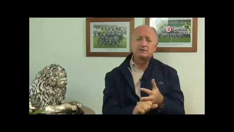 Veja o que Felipão falou sobre Arthur , sobre o Grêmio
