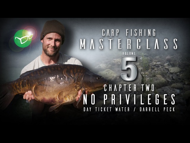 Korda Carp Fishing Masterclass 5 No privileges day ticket water Darrell Peck Free DVD 2018