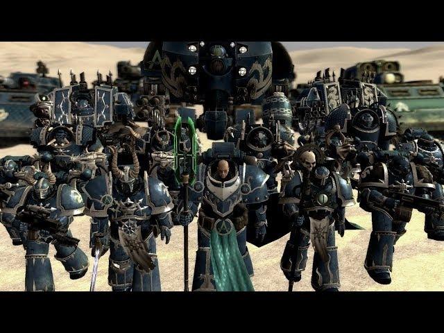 Hidden Shadows - Alpha Legion Tribute - Sabaton - Saboteur