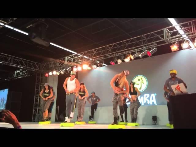 BETO PEREZ THE ZUMBA® STEP ZES™ TEAM @ THE ZUMBA® ACADEMY FIBO 2014