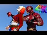 Flash vs Harley Quinn. Unreal Tournaments.