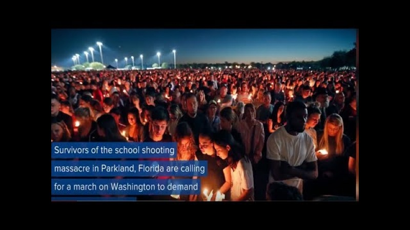 Nexus World | Florida shooting survivors announce | March For Our Lives | Rally
